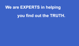 Experts At Finding The Truth - private investigator in London UK