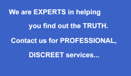 Professional and Discreet - London detective